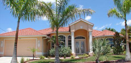 Florida Villa Cape Coral 4555 mit Pool, Internet und Bootsanleger mieten.