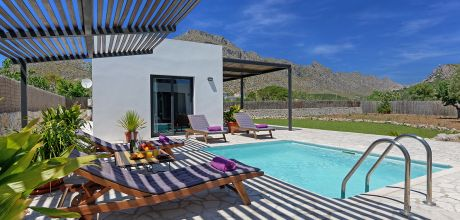 Mallorca Nordküste – Deluxe Villa Puerto Pollensa 2022 mit Pool in Strandnähe (800m) mieten. Wechseltag Samstag. 2019 buchbar.
