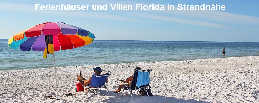 Ferienhäuser und Villen Florida in Strandnähe