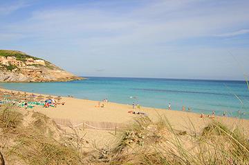 Die Cala Mesquida auf Mallorca