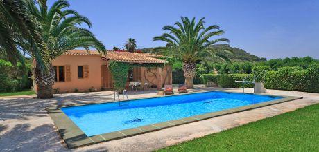 Mallorca Südostküste Casita Carritxo 1120 mit Pool und Internet. An- und Abreisetag nur Samstag.