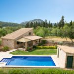 Finca Mallorca MA1253 - Blick auf den Pool