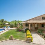 Finca Mallorca MA1253 - Garten mit Pool