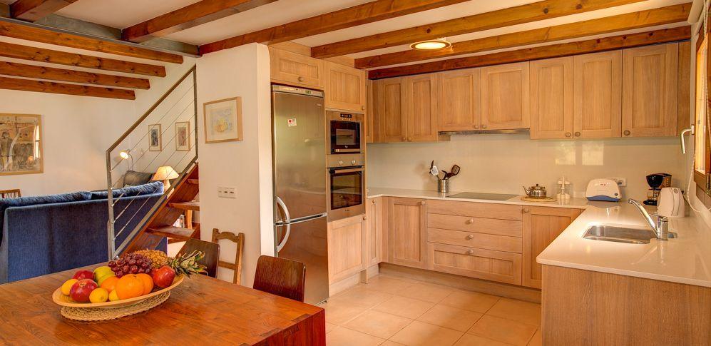 Finca Mallorca MA1253 - Küche mit Tisch