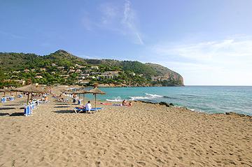 Playa de Canyamel auf Mallorca