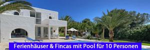 Ferienhäuser & Fincas mit Pool für 10 Personen