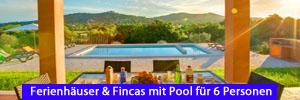 Ferienhäuser & Fincas mit Pool für 6 Personen