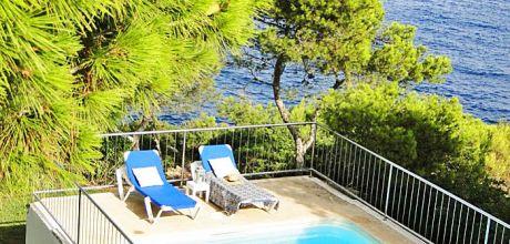 Mallorca Südost – Ferienhaus Cala D'Or 3951 mit Pool direkt am Meer, Grundstück 1.500qm, Wohnfläche 150qm, An- und Abreisetag Samstag.