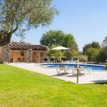 Finca Mallorca MA3950 Poolbereich mit Grillhaus