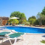 Finca Mallorca MA3950 Sonnenliegen am Swimming-Pool