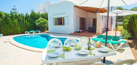 Mallorca Südostküste – Villa Cala D'Or 4791mit Pool & Meerblick, Strand ca. 200m, Grundstück 620qm, Wohnfläche 220qm. Wechseltag Samstag – Mindestmietzeit 1 Woche.