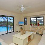 Villa Florida FVE32180 Wohnbereich mit Zugang zur Terrasse
