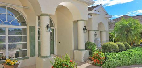 Komfort-Ferienhaus Florida Rotonda 3008 mit beheizbarem Pool, Grundstück ca. 800qm, Wohnfläche ca. 200qm. Wechseltag flexibel – Mindestmietzeit 1 Woche.