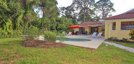 Ferienhaus Florida Manasota Beach 31130 mit beheizbarem Pool in Strandnähe (ca. 2km), Grundstück ca. 4.000qm, Wohnfläche ca. 200qm. Wechseltag flexibel – Mindestmiezeit 1 Woche.