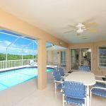 Ferienhaus Florida FVE41845 überdachte Terrasse mit Esstisch