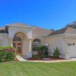 Ferienhaus Florida FVE42535 Rasenfläche vor dem Haus