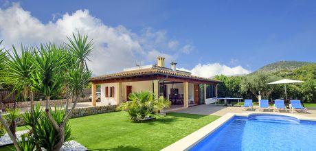 Mallorca Nordküste – Ferienhaus Pollensa 2010 mit Pool, Wohnfläche 130qm, An- und Abreisetag nur Samstag. – 2018 buchbar!