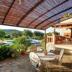 Ferienhaus Mallorca MA2284 überdachte Terrasse