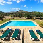 Ferienhaus Mallorca MA2284 Blick über den Pool