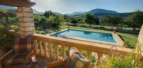 Mallorca Nordküste – Ferienhaus Pollensa 2284 mit Pool für 4 Personen mieten, Wechseltag Samstag!