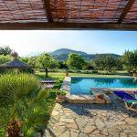 Ferienhaus Mallorca MA2284 Blick in den Garten