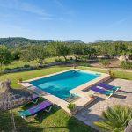 Ferienhaus Mallorca MA2284 Garten mit Pool