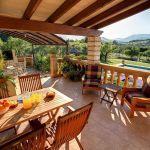 Ferienhaus Mallorca MA2284 Gartenmöbel auf der Terrasse