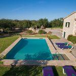Ferienhaus Mallorca MA2284 Poolbereich mit Liegen