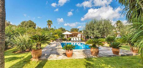 Mallorca Nordküste – Ferienhaus Pollensa 23370 mit Pool für 4 Personen. An- und Abreisetag Samstag.