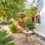 Ferienhaus Mallorca MA23370 Terrasse mit Bank
