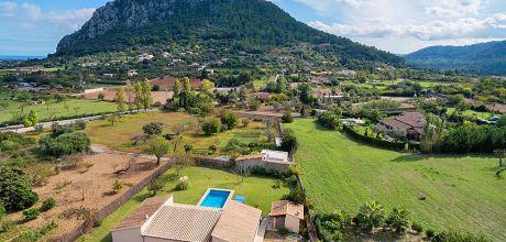 Mallorca Nordküste – Ferienhaus Pollensa 3006 mit Pool, Strand 6km, Grundstück 1.800qm, Wohnfläche 160qm. Wechseltag Samstag.