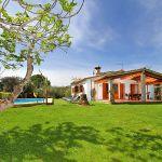 Ferienhaus Mallorca MA3366 Garten mit Rasen