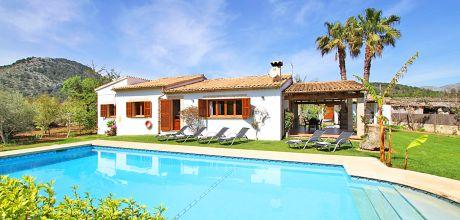 Mallorca Nordküste – Ferienhaus Pollensa 3366 mit Pool, ruhige Lage, Grundstück 6.000qm, Wohnfläche 150qm, Wechseltag Samstag.