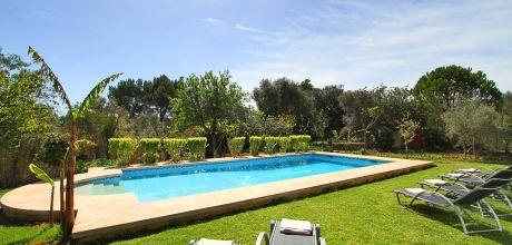 Mallorca Nordküste – Ferienhaus Pollensa 3366 mit Pool, ruhige Lage, Grundstück 6.000qm, Wohnfläche 150qm, 25.05. – 27.09.19: Wechseltag Samstag, Rest flexibel – Mindestmietzeit 1 Woche.