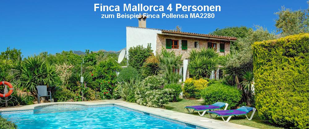 Finca Mallorca 4 Personen MA2280