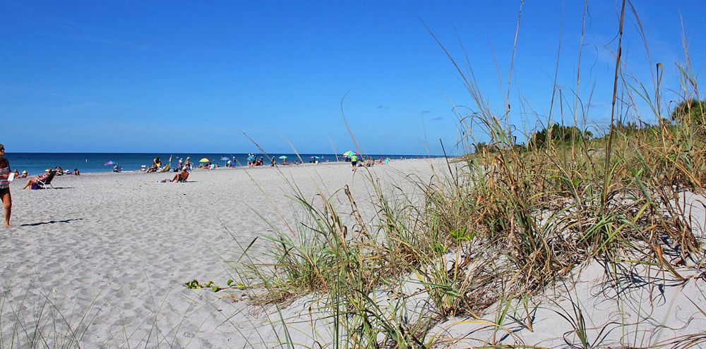 Sandstrand Manasota in Florida