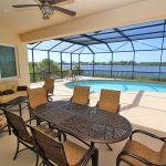 Villa Florida FVE41956 überdachte Terrasse mit Gartenmöbel