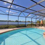 Villa Florida FVE41956 Pool mit Blick auf das Wasser