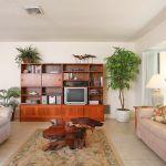 Ferienhaus Florida FVE31720 Wohnraum mit Schrankwnd