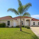 Ferienhaus Florida FVE3816 Auffahrt zum Haus