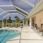 Ferienhaus Florida FVE3816 Terrasse am Pool