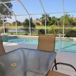 Ferienhaus Florida FVE3816 Terrasse mit Esstisch