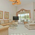 Ferienhaus Florida FVE41110 Wohnbereich mit TV