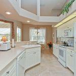 Ferienhaus Florida FVE41110 weiße Küche