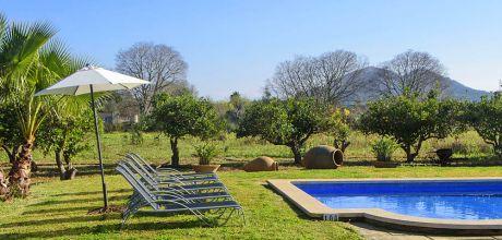 Mallorca Nordküste – Ferienhaus Pollensa 2006 mit Pool, Grundstück 4.000qm, Wohnfläche 120qm, An- und Abreisetag nur Samstag.