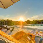 Ferienhaus Mallorca MA33183 Abenddämmerung am Pool