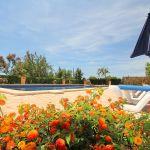 Ferienhaus Mallorca MA5208 Garten mit Blumen