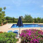 Ferienhaus Mallorca MA5208 Garten mit Pool