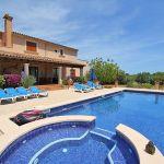 Ferienhaus Mallorca MA5208 Pool mit separatem Whirlpool