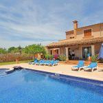 Ferienhaus Mallorca MA5208 Sonnenliegen am Swimmingpool